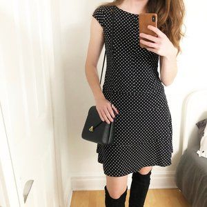 Stunning Joseph Ribkoff Polka-Dot Midi Dress - 6
